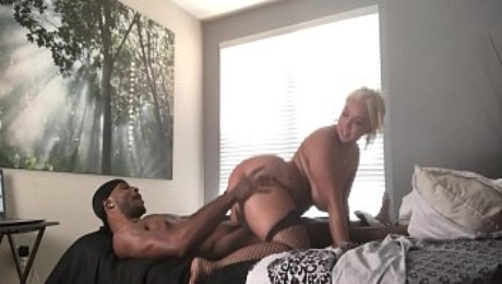 BBC for Thick booty white girl