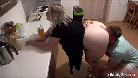 She loves honey and also sex